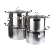 Aço inoxidável de alta qualidade pote de cozinha