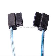 Câble SATA-3 7P à angle gauche à faible angle (ERC472)