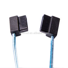Low-profile Left Angle SATA-3 7P Cable (ERC472)