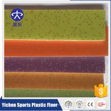 Piso de piso de la danza del suelo del vinilo del piso del PVC del forro no tejido del respaldo