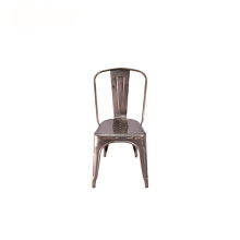 Outdoor Metal Retro Industrial Tolix Side Chair