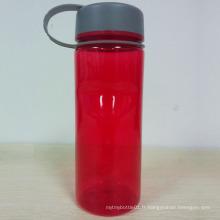 Bouteille d'eau de 750 ml sans BPA, bouteille d'eau Tritan, bouteille sport en plastique