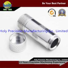 Usinage CNC Mini Shell en aluminium pour lampe de poche LED