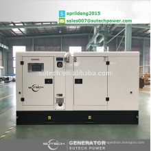 2017 New Stock!100Kva silent generator sets with water proof enclosure