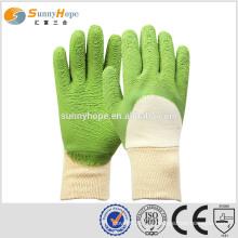 Gants de protection Latex Gants de sécurité revêtus de travail Gants pour travaux de construction
