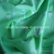 100% poliéster pigmento tecido de pele de pêssego impresso