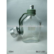 Botella de cristal del perfume 100ml
