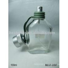 Бутылка дух 100ml стеклянная