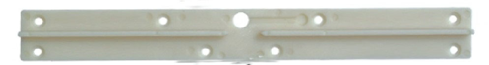 double take up lever guider rail white