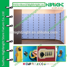 plastic ABS safe electronic smart locker shelf
