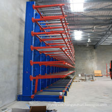 Jracking steel adjustable heavy duty cantilever lumber rack/cantilever frame/cantilever sheet rack
