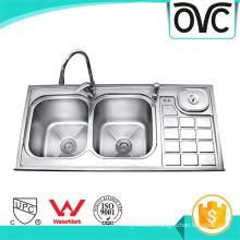 High Quality Best Sale Silver Standard Kitchen Sink Sizes High Quality Best Sale Silver Standard Kitchen Sink Sizes
