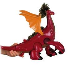 Dragon en plastique en plastique, dragon promotionnel fait sur commande de PVC, dragon fait sur commande de collection de dinosaure