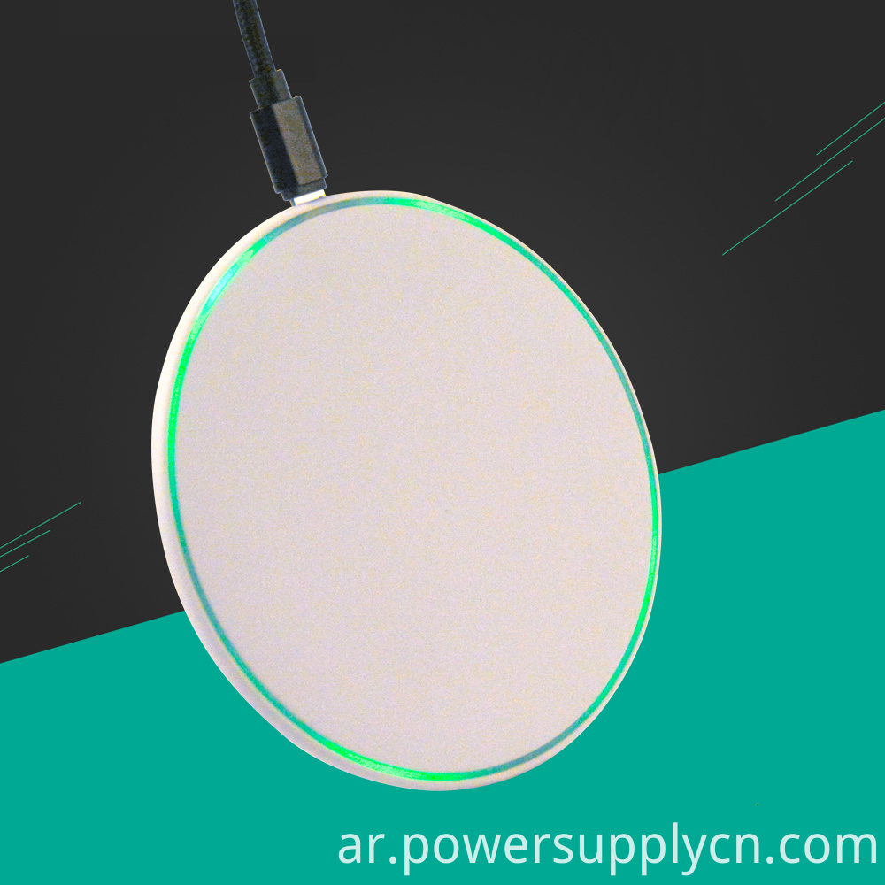 6 49mm Ultrathin Qi Fast Wireless Charger 10w