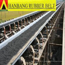 usine de la Chine de courroie de convoyeur en caoutchouc haute qualité