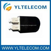 Boucle de cordon optique SC fibre de retour avec couvercle Multimode pour des composants réseau