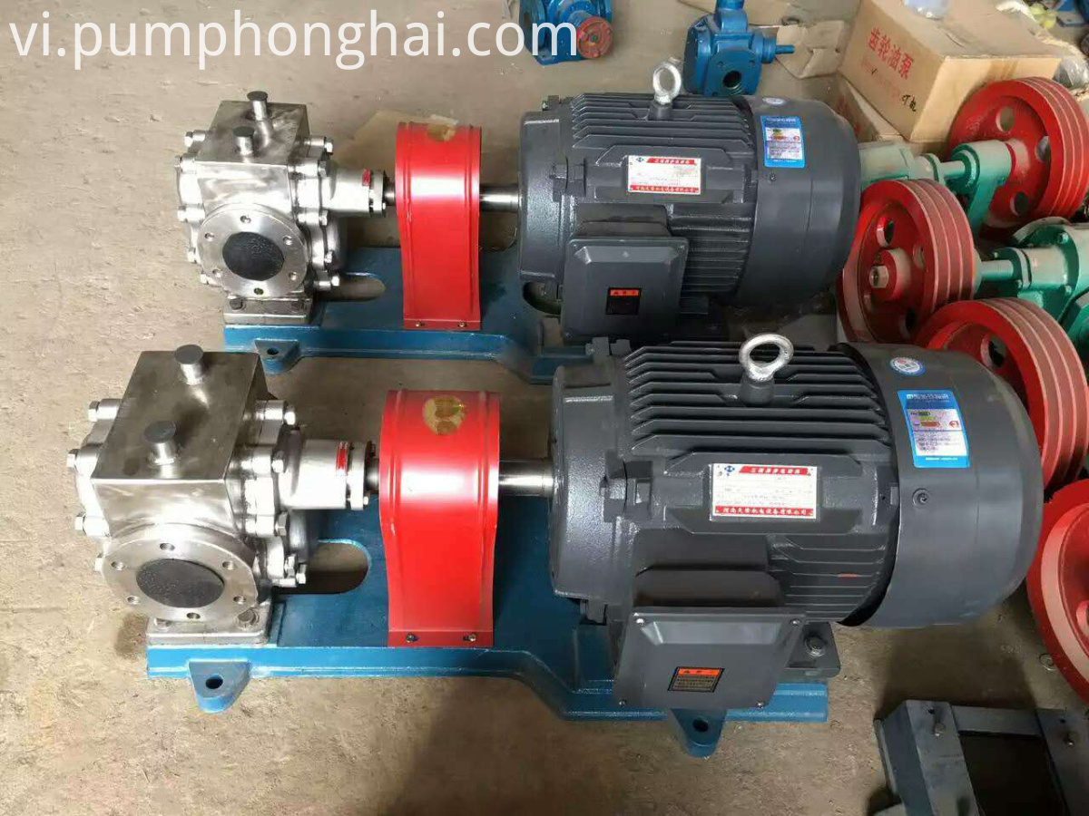 high temperature bitumen pump