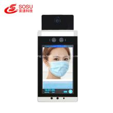 Terminal für Temperaturmessung und Gesichtserkennung