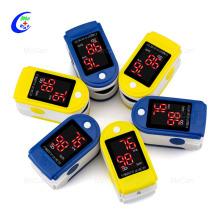 OLED Screen Finger Pulse Oximeter Blood Oxygen Instrument
