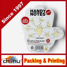 Notas prácticas - Notas adhesivas con forma de mano (440041)