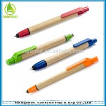 Top vendas promocionais caneta caneta/ECO toque caneta stylus tela caneta personalizado