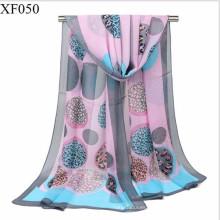 Hijab musulmán de la bufanda de la gasa del llano de la impresión de la moda del más nuevo diseño