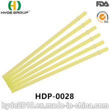 Paja plástica dura y recta de la venta caliente para beber (HDP-0028)