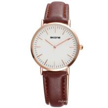 China Cheap Price Wholesale Geneva Women/Man Watch Leather Watch