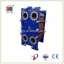 China calentador de agua de acero inoxidable, aceite hidráulico enfriador Alfa Laval MX25 recambio