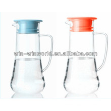 China Manufacturer Promotion Gift Large Infusion Pitcher Wholesale Glass Carafe