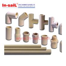 China Shenzhen 30mm Kunststoff Nippel Armaturen für Vakuum Klempnerarbeiten