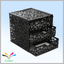 High Quality Factory Sale colorful custom 3 tier drawer metal desktop letter holder