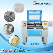 Máquina de corte e gravação de laser com tubo de laser de CO2