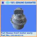 PC120-6 TRAVEL MOTOR ASS'Y 203-60-63110