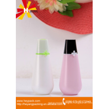 HDPE cylindrical plastic twist up cosmetic face cream container