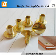 Cheap China Manufacture Binding Post Chicago Screw Copper