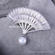 элегантная мода броши оптовые ювелирные изделия женщины моды броши