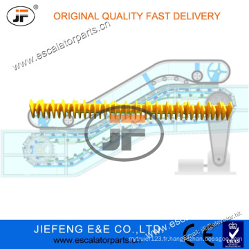 JFThyssen Escalator Step Cleat (Front Long) 1705724600 Escalator Step Demarcation