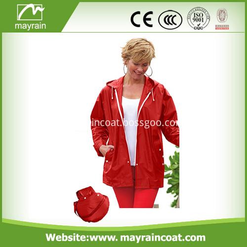 Waterproof PVC Outdoor Jacket