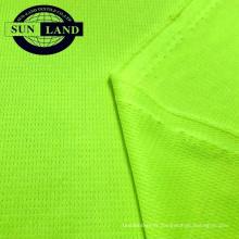 Tissu en 100 maille de polyester fit drypass mesh fit pour vêtements de sport