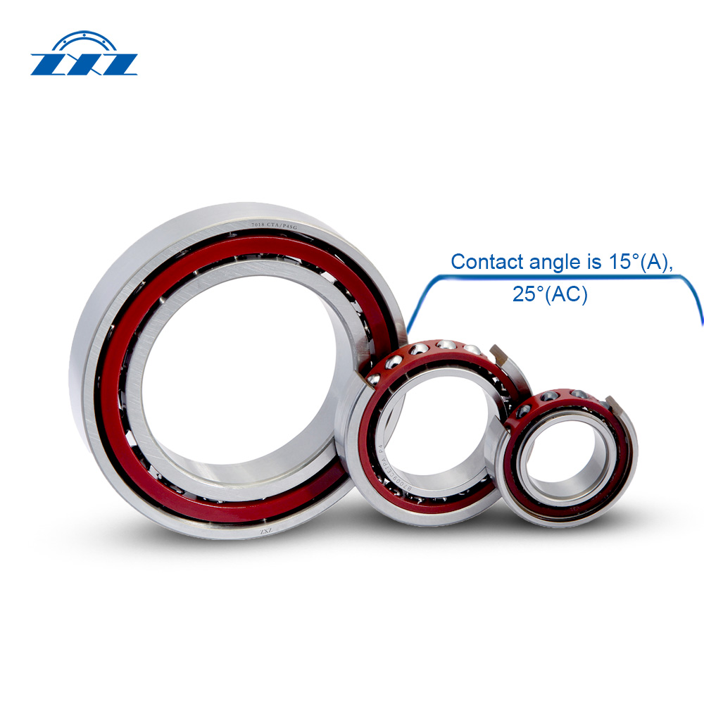 high precision angular contact ball bearings Structure pic