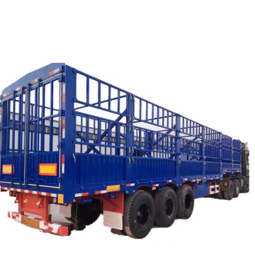 Utility Fence Cattle Livestock Transportation Trailer