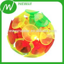 Leuchtende Werbe-Neuheit Saugnapf Spielzeug