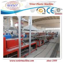 Chaîne de production en plastique de machine d'extrudeuse de porte de fenêtre de profil de PVC