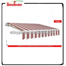 Garten-Aluminium Markise Teile Sun Shade Shelter Markise