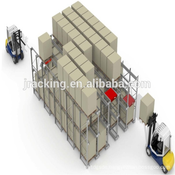 CE Certificated Radio shuttle rack, Storage Rack Selective and Adjustable/Warehouse Storage Radio Shuttle Racking