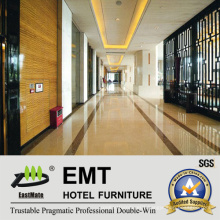 Most Popular Hotel Public Area Wooden Wall Panel (EMT-F2016)