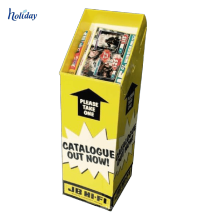 Горячая Продажа Ящиков Сброса Картона Со Съемной Головой,Дисплея Бумаги Pop Ящики Сброса Конфеты Закромах