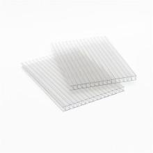 Строительный материал УФ-защита поликарбонатная полая листовая двойная стеновая панель