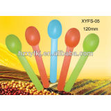 Biodegradable disposable spoon--- yogurt spoon